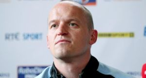 Glasgow Warriors head coach Gregor Townsend. Photograph: Dan Sheridan / Inpho