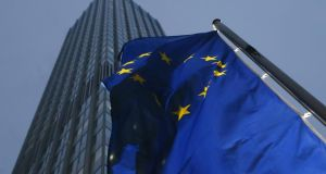 The ECB is expected to ease monetary policy next week.  Photographer: Ralph Orlowski/Bloomberg