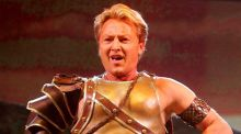 Michael Flatley performing in 'Celtic Tiger', a show which took place between his fire retirement in 2001 and his second retirement in 2011. He'll be back again next year. Photograph: David Sleator/The Irish Times