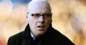 "Brian McDermott:  ""It is clear Massimo wishes to implement a new structure and feels he will work more successfully for Leeds with a coach rather than a manager."" Photograph: Matthew Lewis/Getty Images"