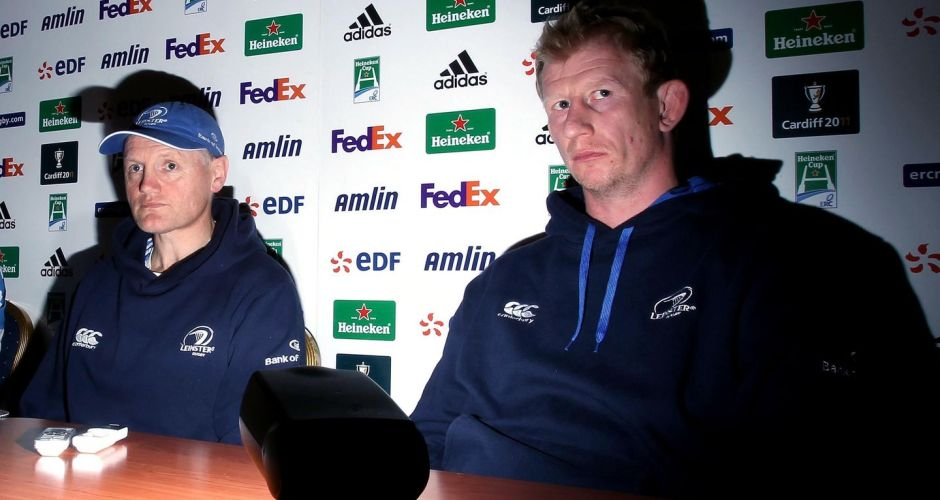 Leinster legends: Brian O'Driscoll and Leo Cullen