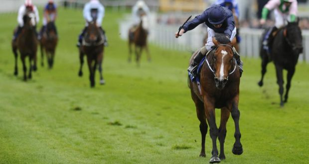 ba0dd042f5e Ryan Moore riding Orchestra to victory in the MBNA Chester Vase at Chester last  month.