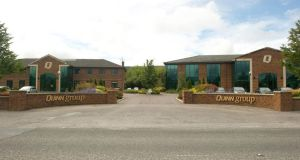 The Quinn group headquarters in Derrylin County Fermanagh.