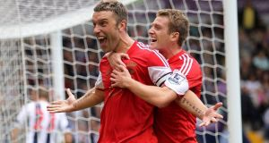 Liverpool have confirmed the signing of Southampton and England striker Rickie Lambert. Photograph:  David Davies/PA