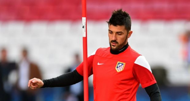c3dc7b64a Atletico Madrid and Spain striker David Villa has become the first player  signed by new MLS