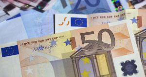 The euro struggled near recent lows on Tuesday, before euro zone inflation numbers that are expected to highlight declining price pressures in the region.