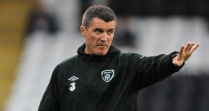 Roy Keane has withdrawn from his role as an ITV pundit. Photograph:  Nigel French/PA Wire