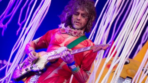 The Flaming Lips. Photographer: Kieran Frost