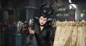 Angelina Jolie in Maleficent: all withering stares, vengeful snarls and killer one-liners