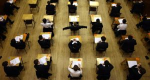 For parents who are both working, avoid the ultimate disaster of your child missing an exam by ensuring they are up and dressed before you leave the house.  Photograph: David Jones/PA Wire.