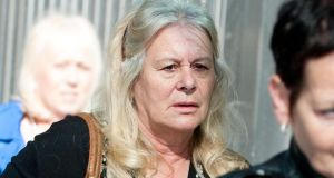Vera McGrath at Dublin Central Criminal Court today, where she received an 18-month sentence. Photograph: Collins