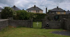 The site believed to be a mass grave for children who died in the Tuam mother and baby home. Photograph: Niall Carson/PA Wire