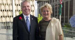 Colette Twomey, who owns Clonakilty Blackpudding, was  recently in the US with this year's  EY Entrepreneur of the Year  hopefuls where she met  Ed Murray, the first openly gay mayor of Seattle