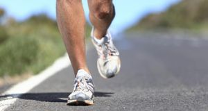 'It is difficult to stop running even when it is patently bad for various bits of you.' Photograph: Getty Images