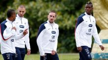 Franck Ribery due back in training with France