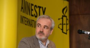 "Colm O'Gorman, executive director of Amnesty International Ireland, said that ""as disturbing as the 'Tuam babies' case is, it must not be viewed in isolation.""   Photograph: Alan Betson / The Irish Times."