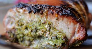 Fragrant lemongrass pork loin