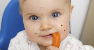 Veg training: babies and toddlers are cautious about new foods