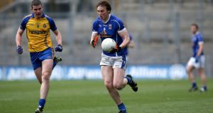Cavan's Gearóid McKiernan in action against Roscommon during the National League Division Three final. Photo: Ryan Byrne/Inpho