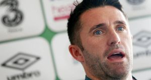 Robbie Keane: The Liverpool experience could have been scarring but Keane just shook it off. Photograph: Donall Farmer