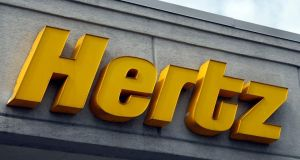Hertz's first-quarter results are likely to be below market estimates due to costs related to the accounting review, the company said in a regulatory filing. Photograph: Reuters/Rebecca Cook