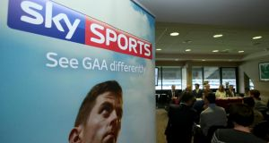 Sky TV launch their coverage of the GAA championship at Croke Park last month. Photo: Clive O'Donohoe/Inpho