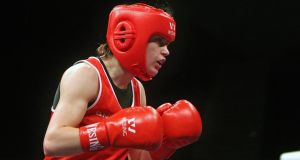 Katie Taylor has won a record-breaking sixth European title.  Photograph: Octavian Cocolos / Inpho