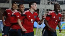 Colombia ease past Jordan