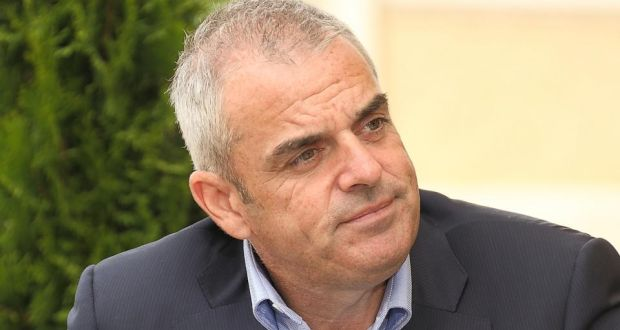 Ryder Cup captain Paul McGinley, also a founder of Clubs to Hire, at EY World Entrepreneur of the Year awards buildup