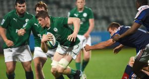 Ireland's Jack O'Donoghue will be hoping to lead the team into the semi-finals. Photograph: Andrew Cornaga/Inpho