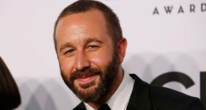 Actor Chris O'Dowd arrives for the American Theatre Wing's 68th annual Tony Awards at Radio City Music Hall in New York, last night.