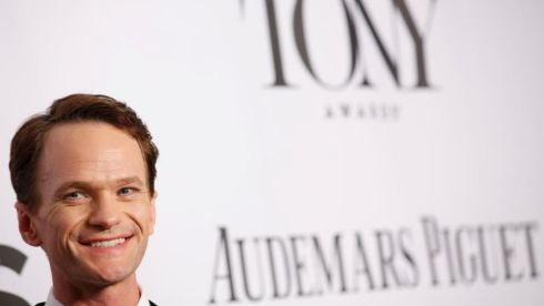 Actor Neil Patrick Harris arrives at Tony Awards Photograph: REUTERS/Andrew Kelly