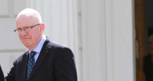 Minister for Children Charlie Flanagan ordered the preliminary exercise following disclosures that almost 800 infants and young children had died in the Bon Secours home. Photograph: Nick Bradshaw