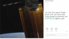 U.S. astronaut Reid Wiseman took to the social media website Vine to share what he says is the first Vine video from outer space.Wiseman is one of a crew of three who arrived on the International Space Station near the end of May. Video: Reuters