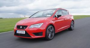 Track record: The SEAT Leon Cupra 280 is a wolf in sheep's clothing, with a scintillating laptime of 1:05.68 on Mondello Park's National Circuit, quite an achievement for a five-door practical hatch with decent-sized luggage compartment and standard tyres