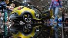 Ready to rock: Opel's Adam Rocks at Auto Mobil International 2014, in Leipzig. Photograph: Hendrik Schmidt/EPA