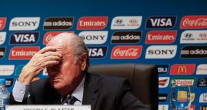 Fifa president Sepp Blatter has been challenged by both the English and Dutch football associations. Photograph: Photograph: Alexandre Schneider/Getty Images