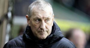 Hibernian have sacked manager Terry Butcher following their relegation from the Scottish Premiership.  Photograph: Graham Stuart/PA