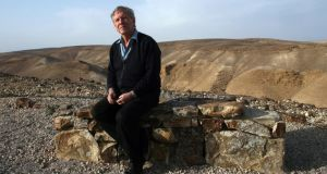 Hostile world: Amos Oz in Israel. Photograph: Rina Castelnuovo/New York Times