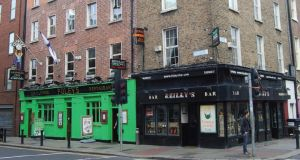 Foley's bar on the corner of Merrion Row and Merrion Street