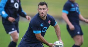 Danny Care: scrumhalf in line to replace Leicester's Ben Youngs in Dunedin.  Photograph: David Rogers/Getty Images