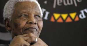 I chose question 1 (A) worth 50 marks, and documented the life of Nelson Mandela. Photograph: Rodger Bosch/AFP/Getty Images)