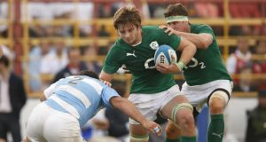 "Ireland's Iain Henderson in action during the first Test against Argentina last Saturday. ""It's all about detail with Joe, make sure everything is nailed off."""