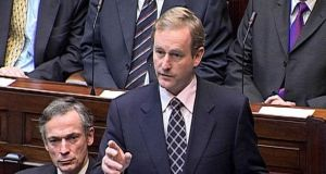 Taoiseach Enda Kenny who  rejected Opposition claims in the Dail that  he lied about  the circumstances surrounding the departure of former Garda commissioner Martin Callinan.
