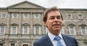Mr Shatter welcomed the Cooke report's findings: 'I dealt with these matters in a straightforward, truthful and comprehensive way.' Photograph: Brenda Fitzsimons