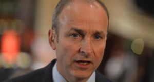 Micheál Martin: Had a mini-meltdown over banking inquiry committee