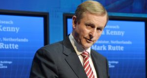 Taoiseach Enda Kenny. Photograph: Alan Betson