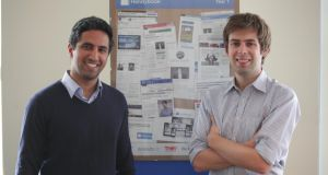 Umang Dua and Oisin Hanrahan of on-demand home improvement and cleaning service Handybook