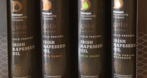 Premium quality rapeseed oil from Donegal