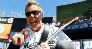 This big: James Hetfield